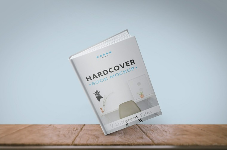 Free Free Hardcover Book Mockup Download Psddaddy Com