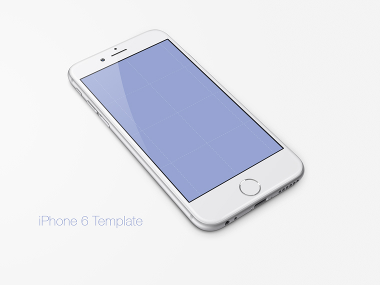 Free Iphone 6 Template Download Psddaddycom