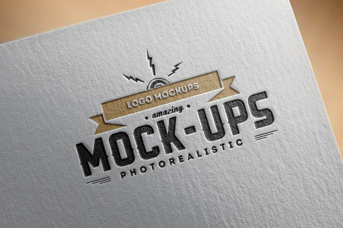 Free Logo Mock-up Presentation