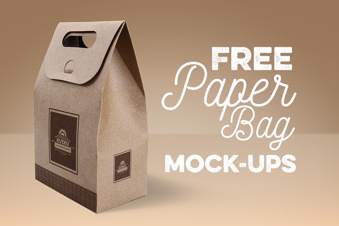 Paper Bag - Free Mock-ups