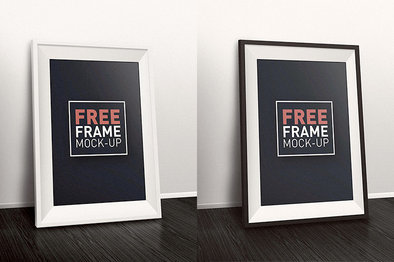 Here is 2 Free Frame Mock-ups Download