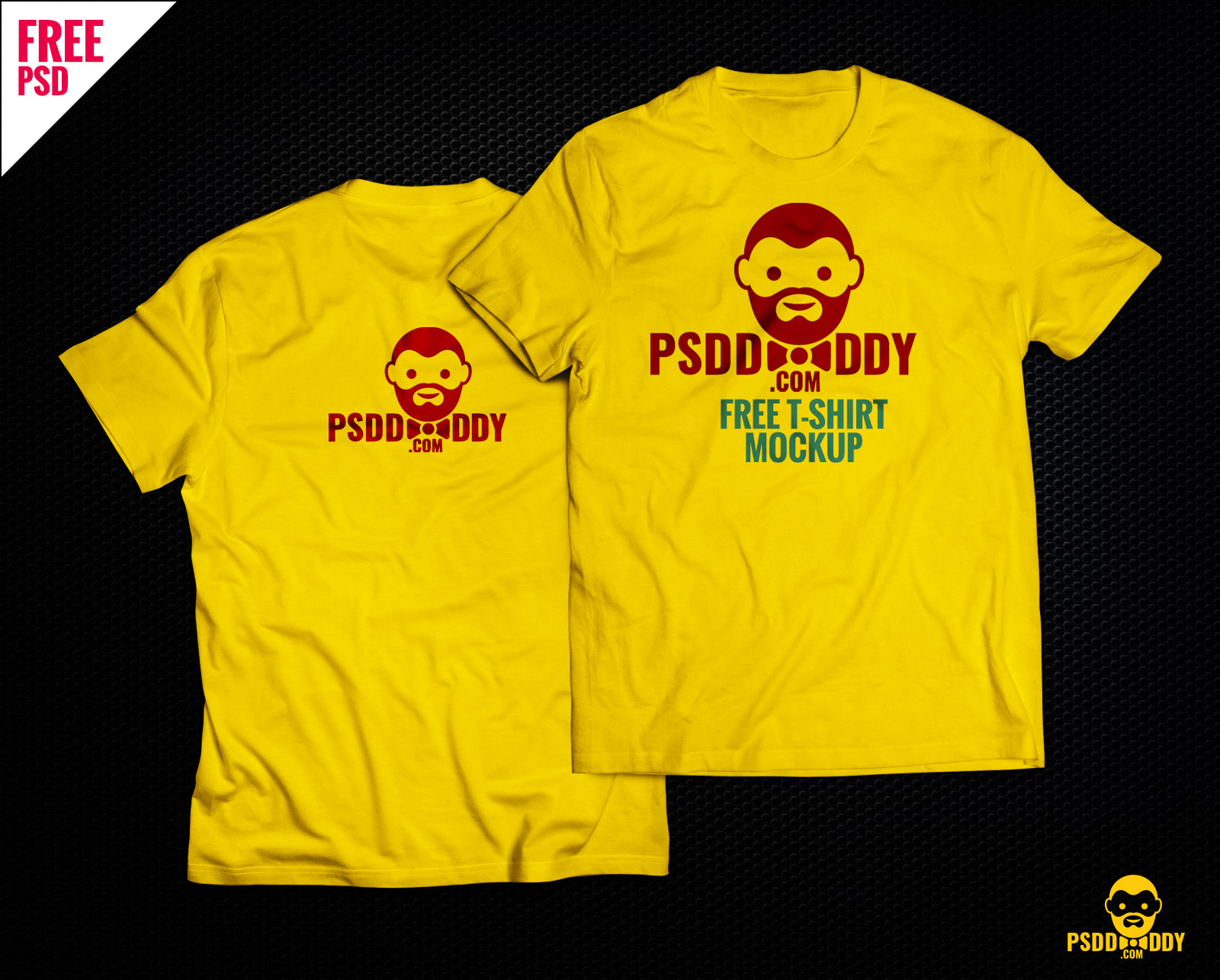 Download T Shirt Mock Up Free Psd Psddaddy Com
