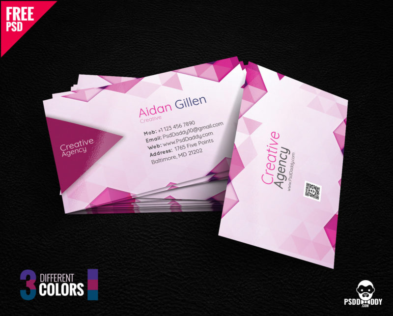 Download] Creative Business Card Bundle PSD | PsdDaddy.com