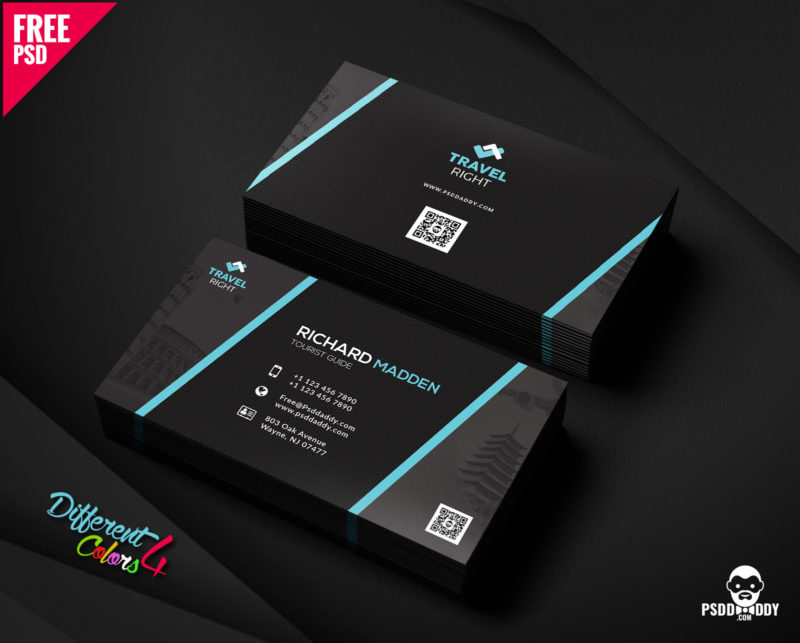 Download] Business Card Bundle Free PSD | PsdDaddy.com