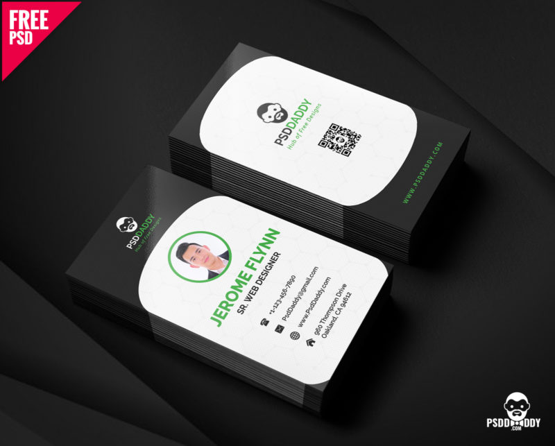 Download] Creative Business Card Free PSD