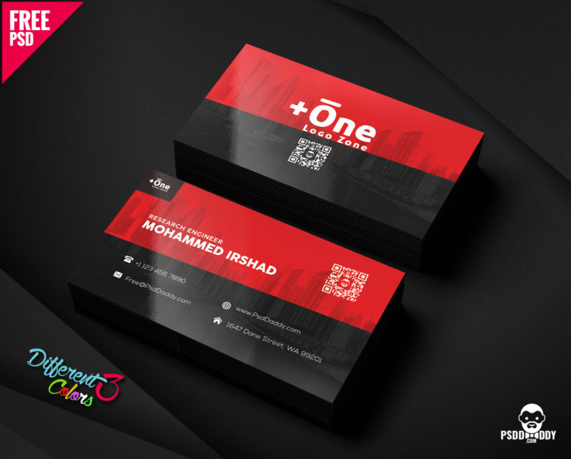 100 free business card psd templates creative business card free psd bundle reheart
