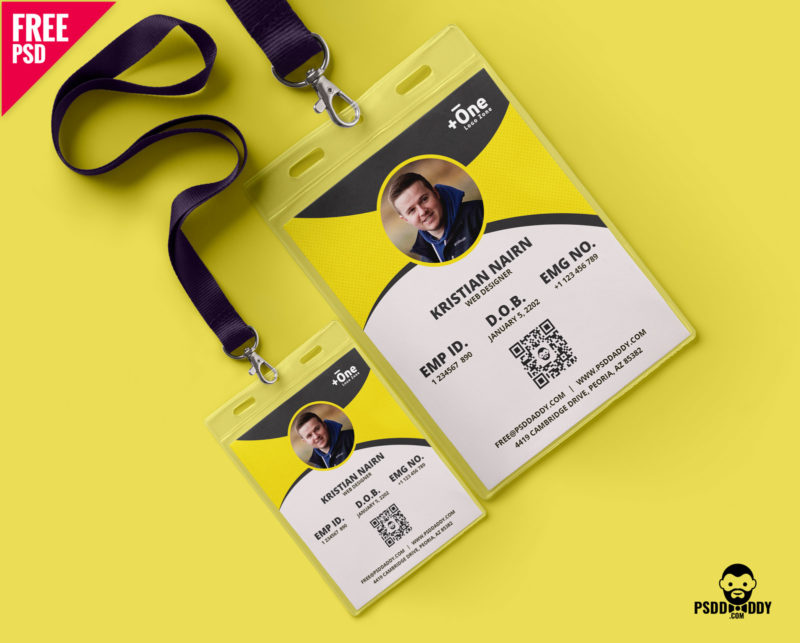 Download Identity Card Free Psd Psddaddy Com