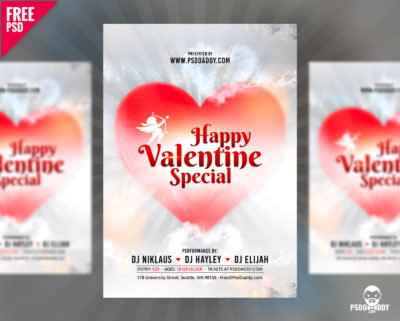 Download free psd flyer for club party psddaddy valentine special flyer free psd pronofoot35fo Choice Image