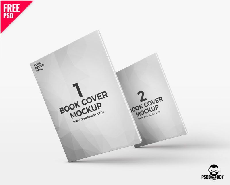 Book Cover Design Psd Free Download : Book mockup free psd psddaddy