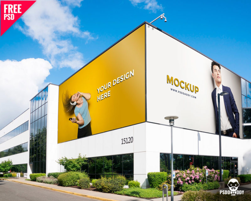 100 Billboard Mockup Psd Free Download Thedesignz