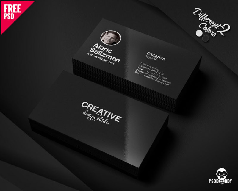 Download] Minimal Business Card Template | PsdDaddy.com