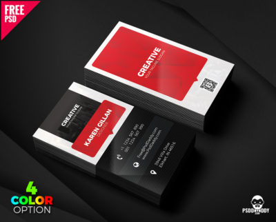 Download creative business card free psd psddaddy creative business card template psd set accmission Gallery