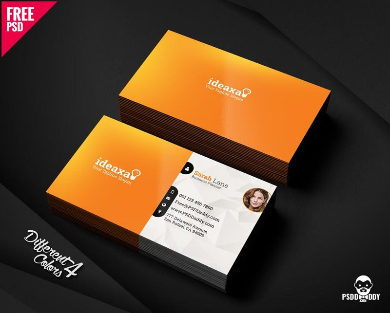 Download] Premium Business Card Bundle PSD | PsdDaddy.com