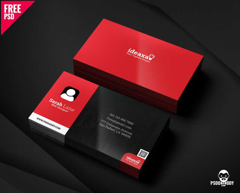 simple business card psd - Simple Business Card Design