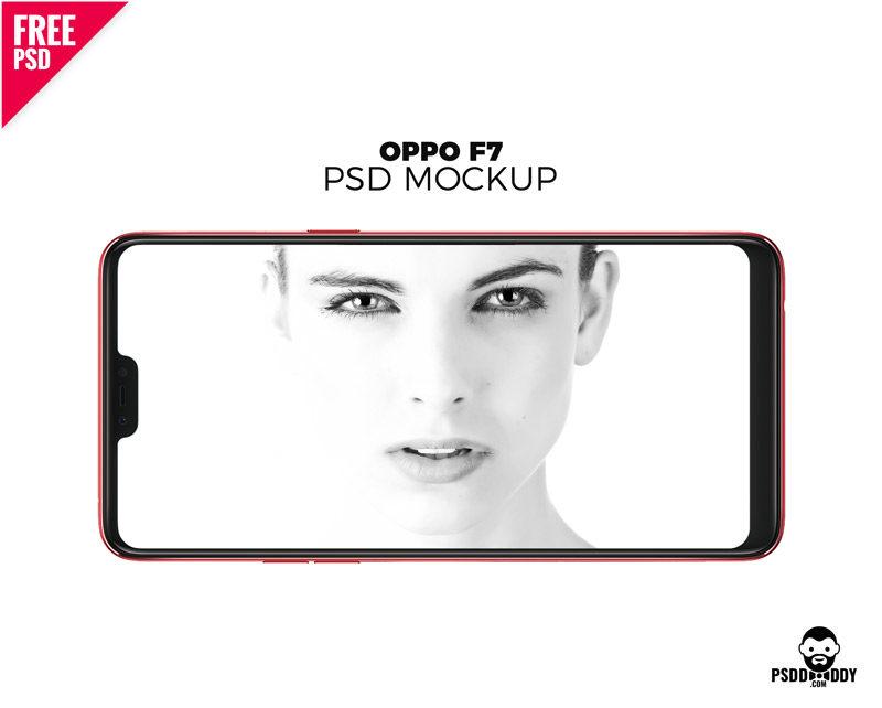 Download] Oppo F7 Mockup PSD | PsdDaddy com