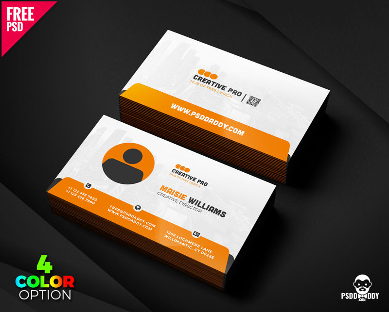 Creative Business Card PSD Set | PsdDaddy.com