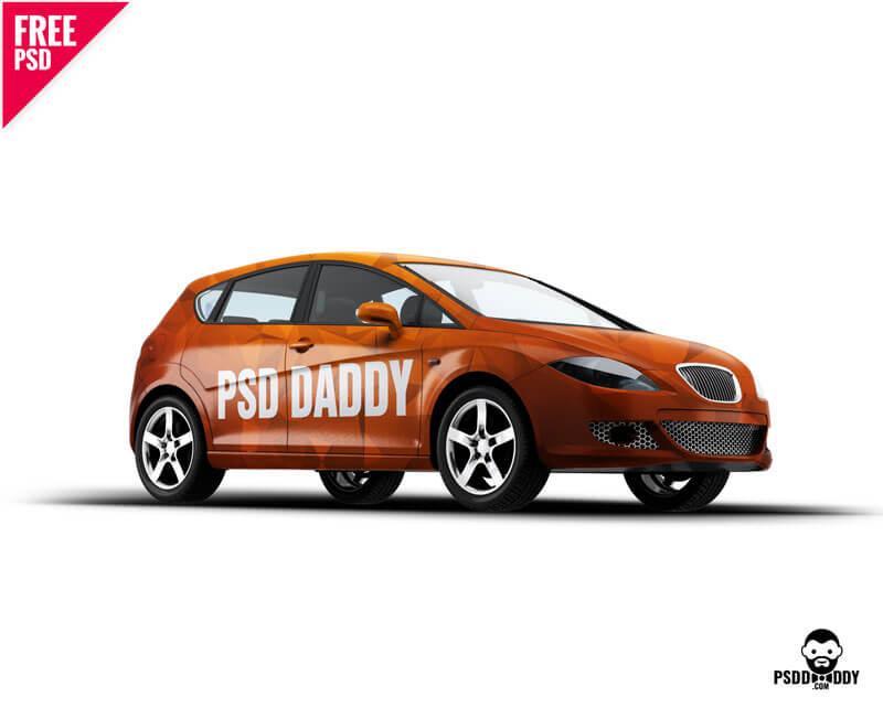 mockup, car mockup, hatchback mockup, hatchback car, car mockup psd, car psd, car branding, car graphic mockup,  psd daddy,