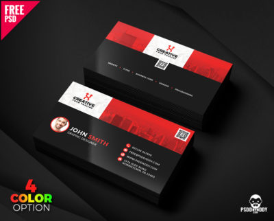Creative business card template psd free download psddaddy clean business card templates psd bundle accmission Gallery