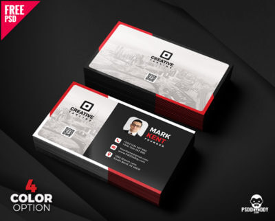 Free dentist business card template download psddaddy creative and clean business card free psd bundle friedricerecipe