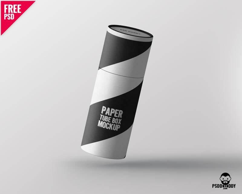 mockup, paper box mockup, box mockup, paper box tube, paper tube mockup psd, car psd, box branding, box graphic mockup