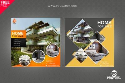 Real estate, real estate design, real estate post, real estate template, property social media,