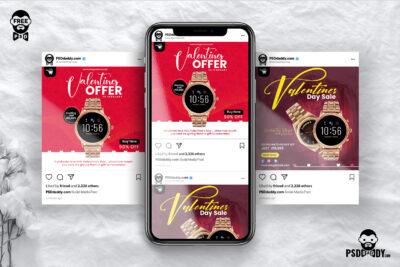 Valentines Sale Free PSD